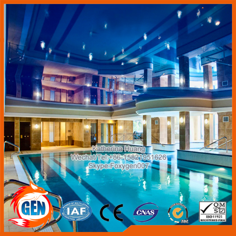 glossy stretch ceiling film low price from china factory