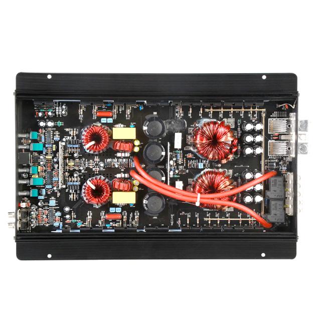 Professional Car Audio Amplifier 2500W Competition High Power Car Amplifier Mono Block Class D