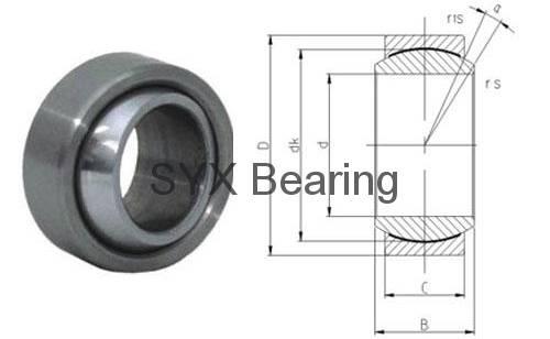 spherical plain bearing GEFZ22C