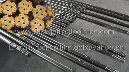 Rock drilling/mining tools