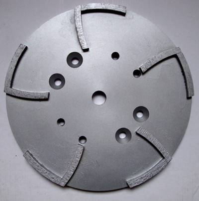 250mm Floor grinding wheel 2