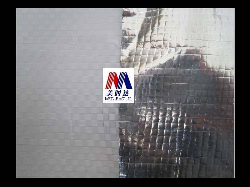 Aluminum Foil /PP Woven Fabric--High Strength Packing Paper Single-Sided