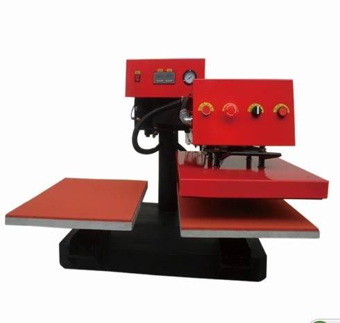 pneumatic swing away heat transfer machine for t shirt