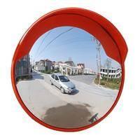 Traffic facilities spherical mirror