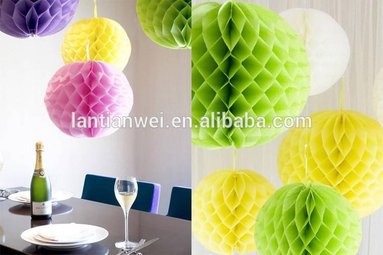 Wedding Decorate Paper honeycomb balls