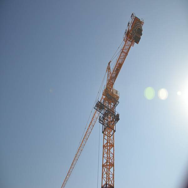 QTZ160 10ton tower crane manufacturer