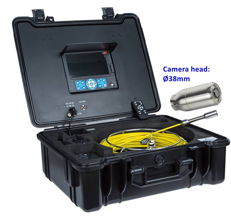 Endoscope cctv camera for pipelines water leak detection of sewer camera