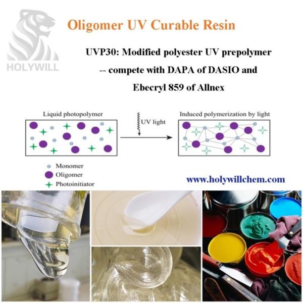 UVP30 Oligomer UV Curable Resin With Good Adhesion