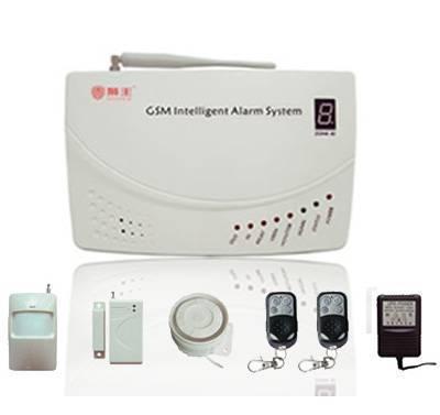 wireless/wire gsm burglar alarm system (Lepu-2000F)