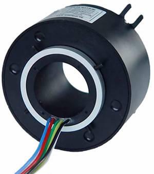 6 Circuits 10A, 38.1mm Through Bore Slip Rings