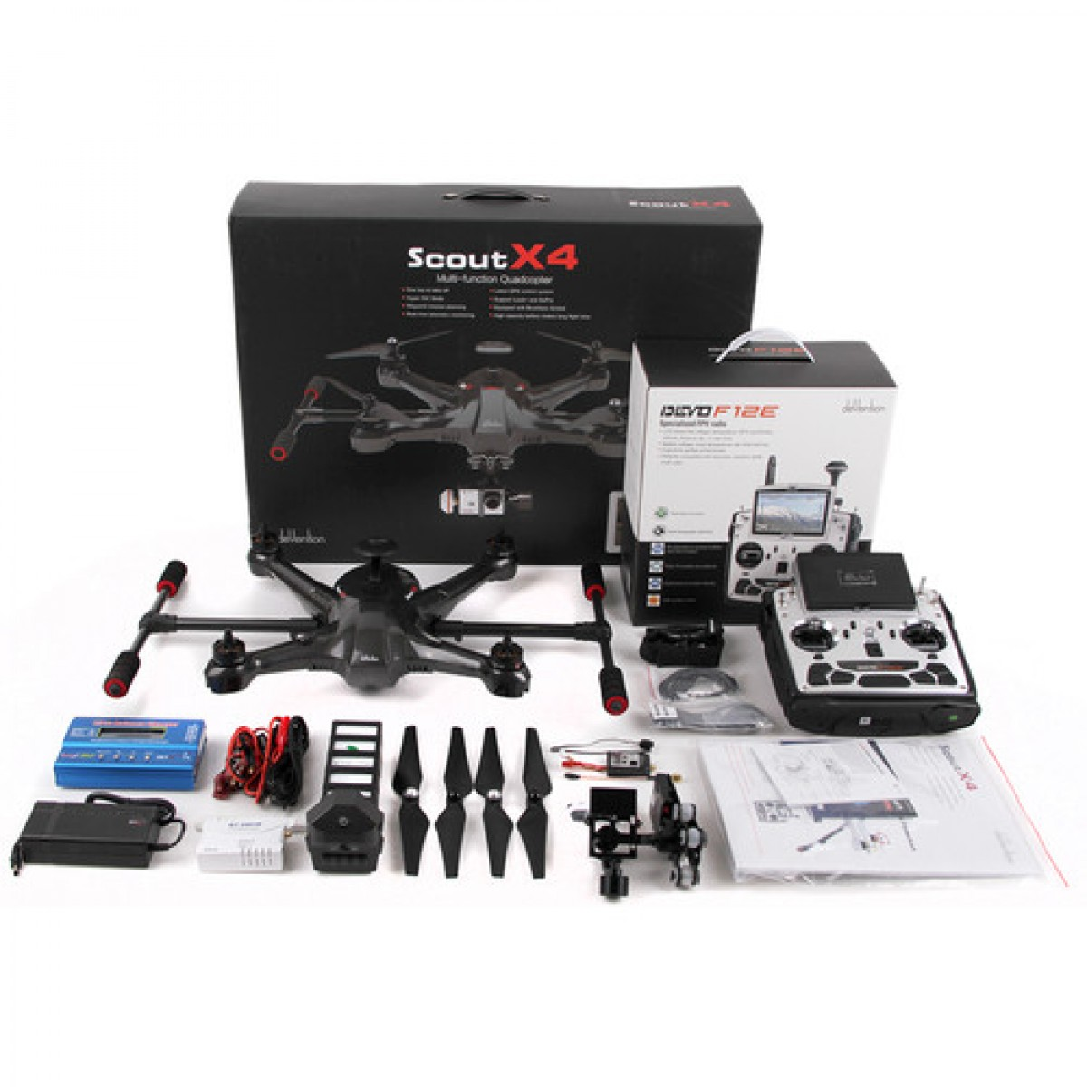 Walkera Scout X4 Quadcopter with G-3D Gimbal