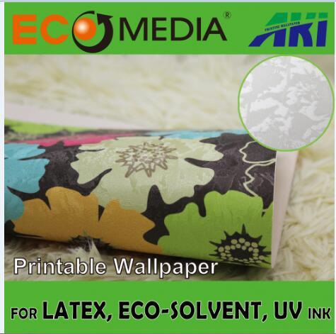 AKI 025 deep forest texture adhesive room decoration printable wallpaper,mural
