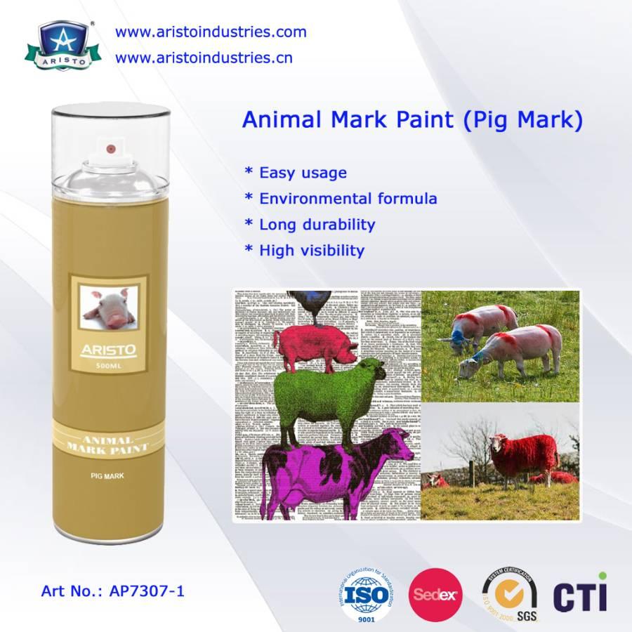 Aristo Animal Mark Spray Paint (Pig Mark)