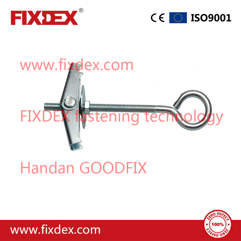 Cavity Fixings Spring Anchor Toggle Bolt With C-Hook