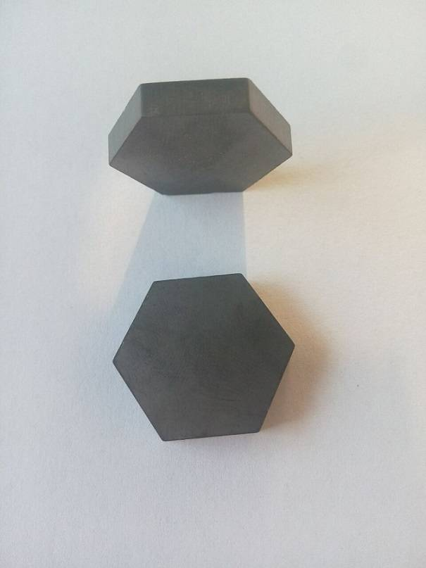 sinterd sic hexagonal tiles