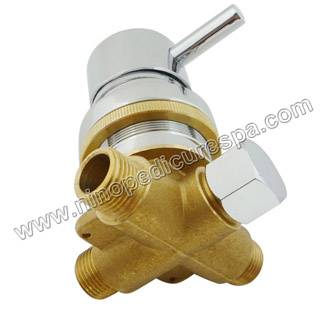 pedicure spa mixing valve