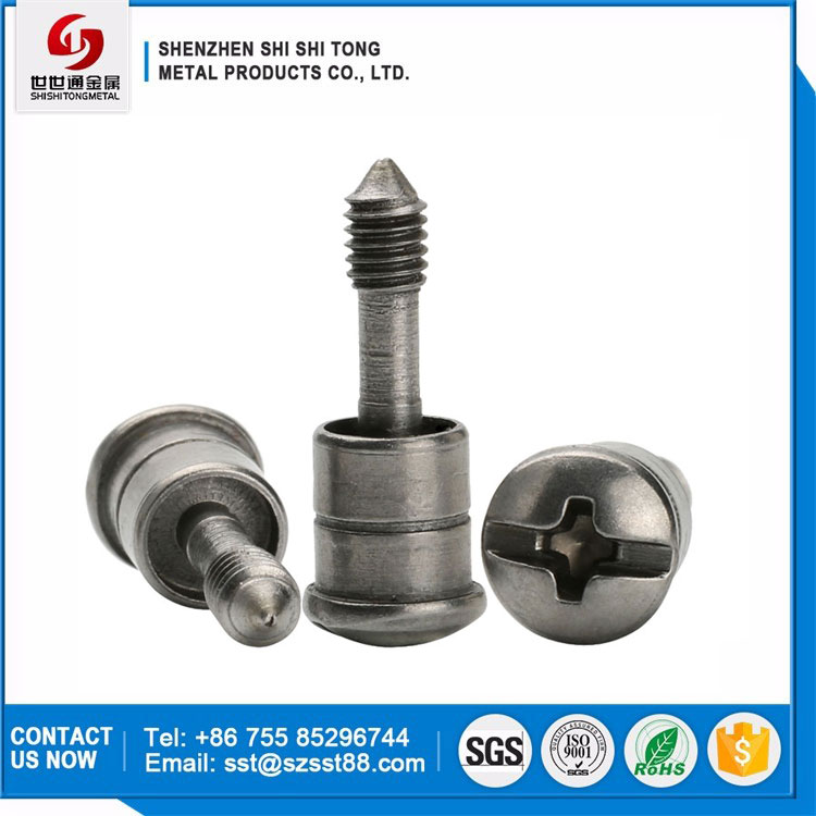 Hardware Accessories Carbon Steel Slotted Phillips Round Head Shoulder Screws Special Motors Screws