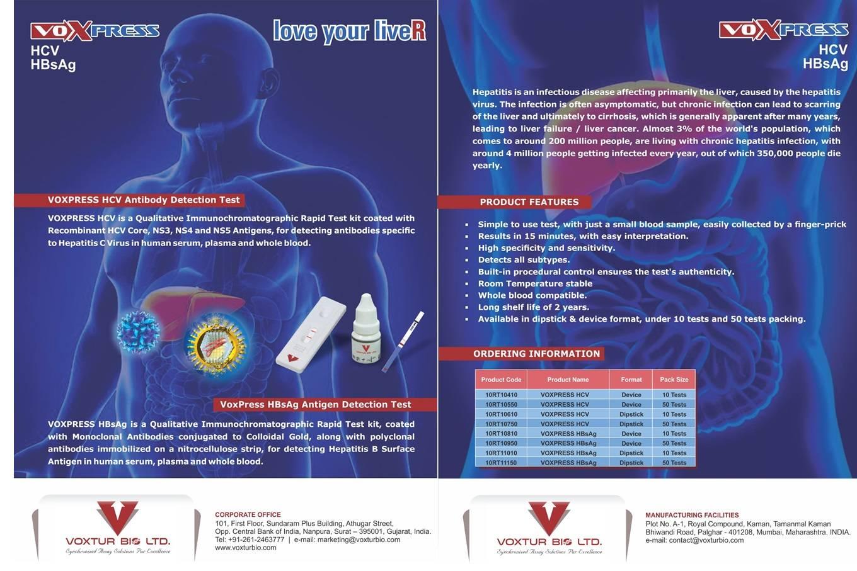 Voxpress HCV Test