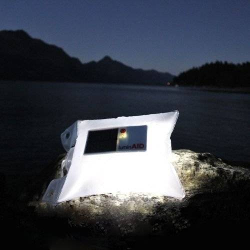 LuminAID PackLite Spectra Colour Changing Solar LED Camping Lantern
