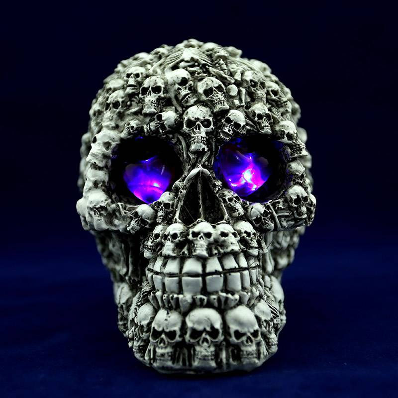 Halloween holidays gift of Halloween props - human skulls for sale