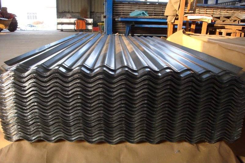 Hot-dip galvanized steel corrugated roofing sheet