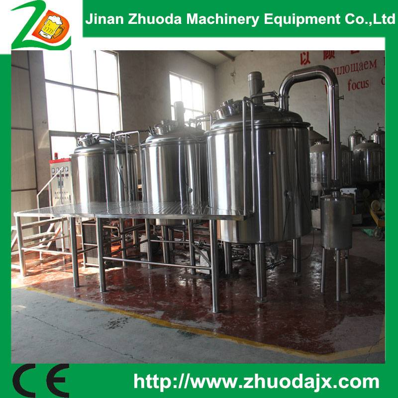 High quality 1000L beer brewing system brewery equipment for small beer plant
