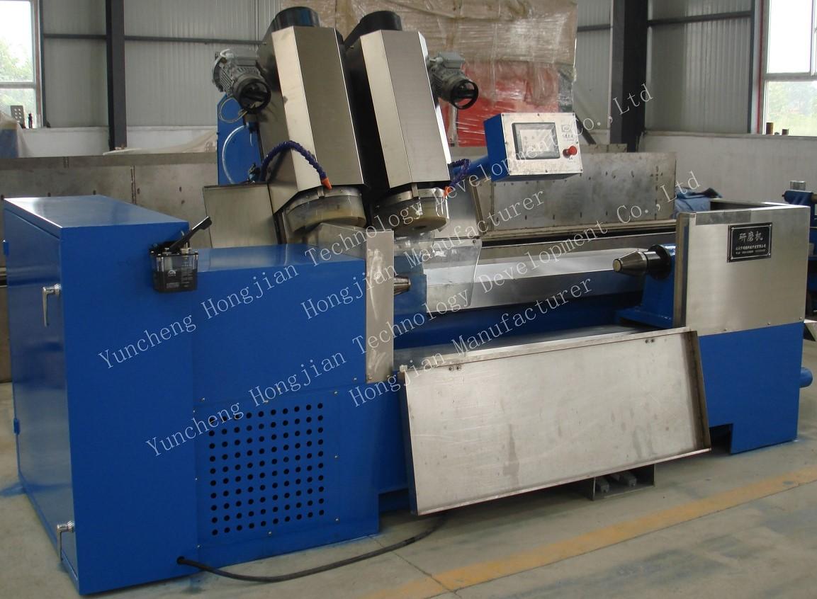 double (three) head grinding machine