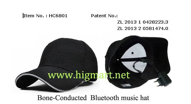 Bluetooth Bone-Conducted Hat