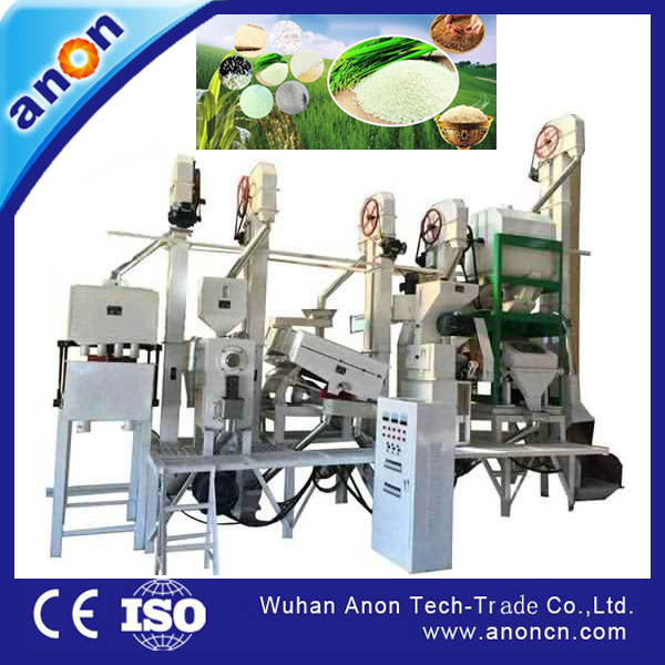 Anon hot sale rice mill 20-30t/d cheap price of rice mill