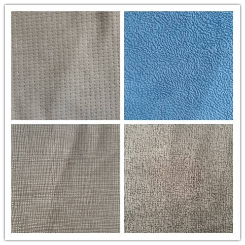 2015 Hot Sale upholstery knitted velvet sofas fabric/burnout velour car seat cover fabric/sofa cover