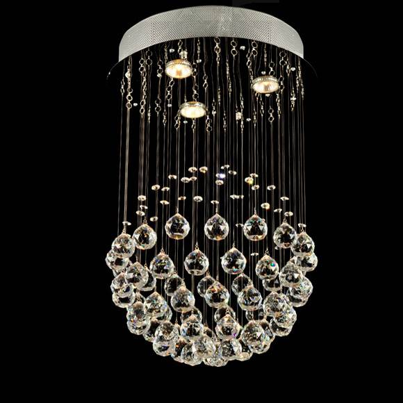 modern Chinese top k9 crystal lamp crystal ceiling light/lamp 6002-3