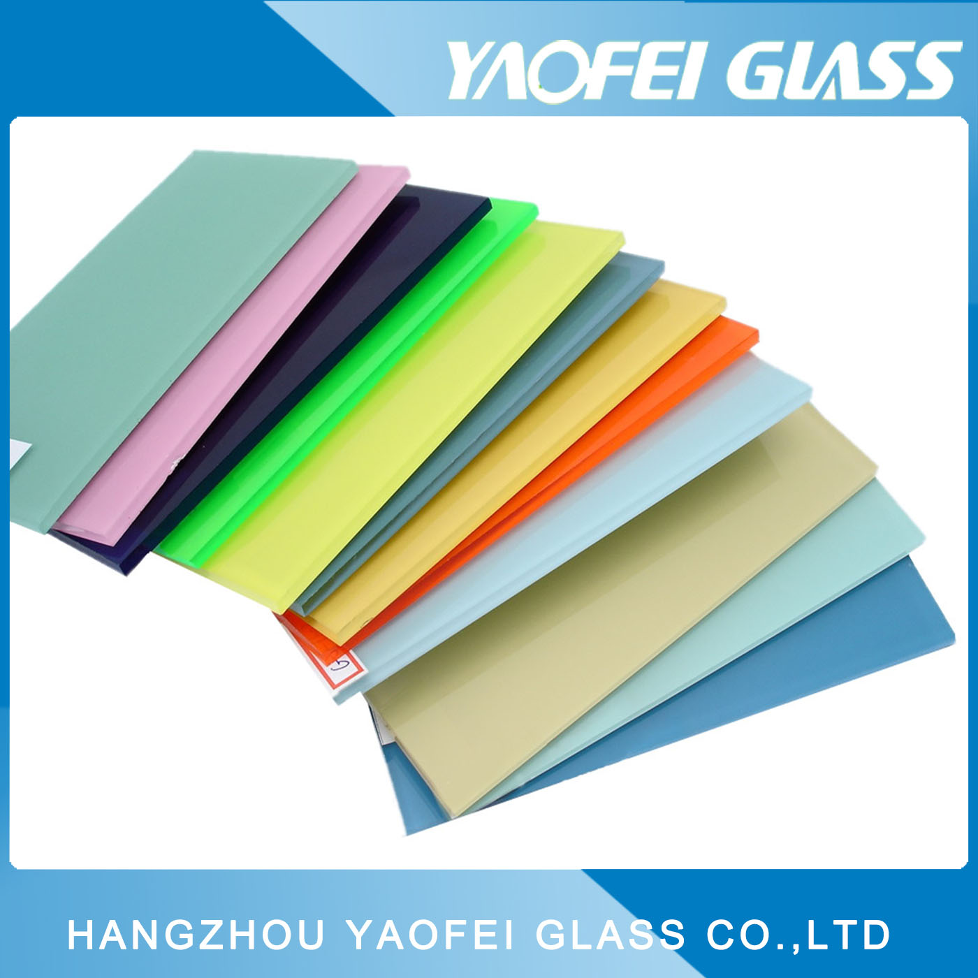 Color Painted Glass