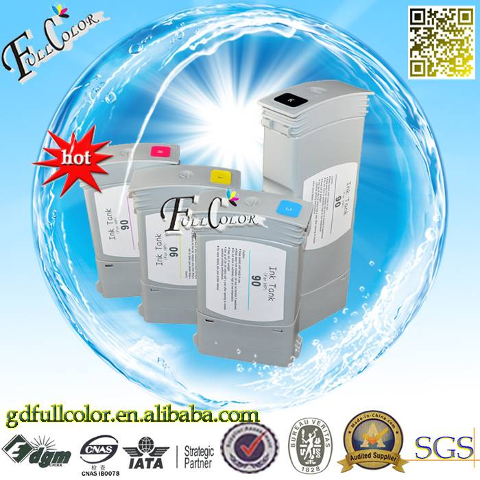 New Product On China Market No.90 Compatible Ink Cartridge For Designjet 4000
