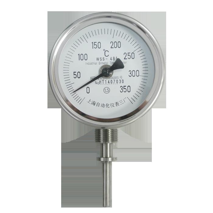 WSSX-411 bimetal thermometer