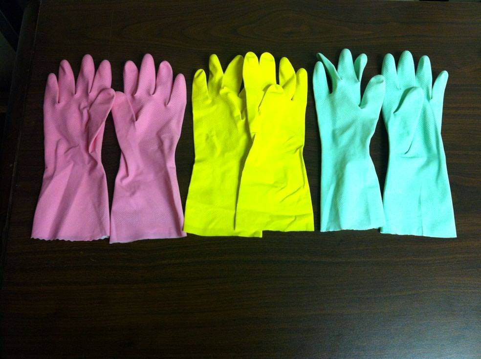 Household Gloves - Latex Gloves (Light Duty)