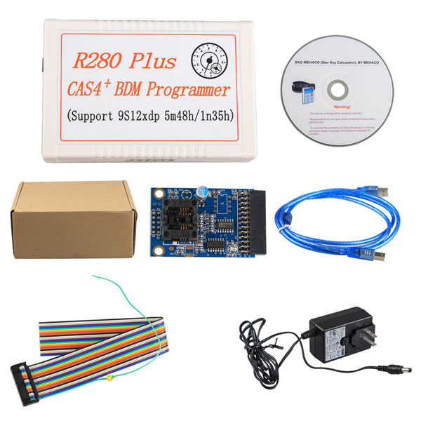 R280 Plus CAS4+ BDM Programmer R270 BMW CAS4 BDM Programmer Upgrade Version