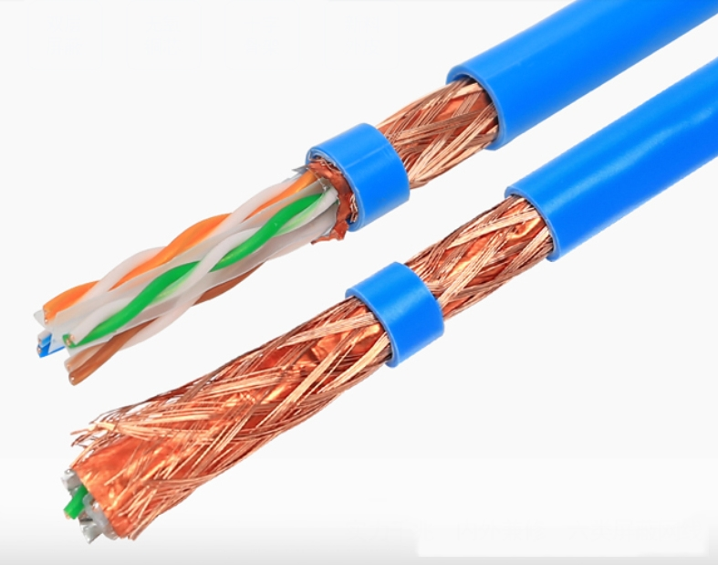 CAT6a UTP Twisted pair network Cable in roll