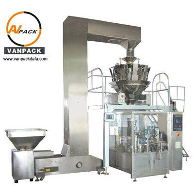 10 Heads Weigher Pre-made Bag Packing Machine(VP-1000KD)