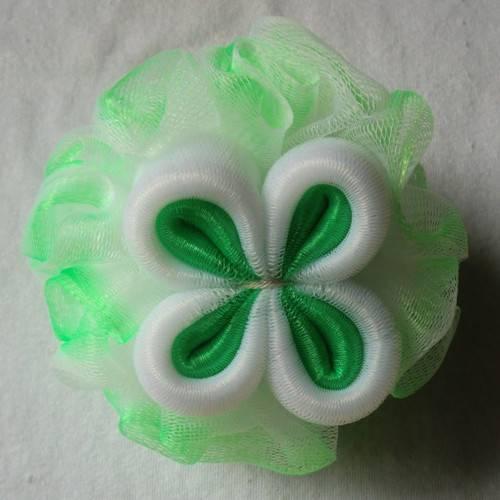 OEM colorful soft bath puff