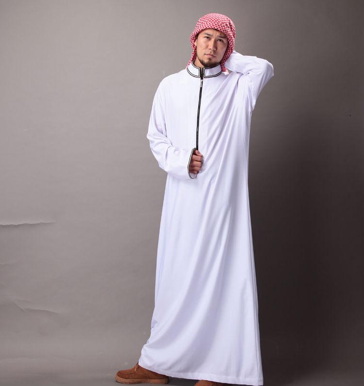High Quality 100% polyester Arabic Thobe Thobe Jubba Fabrics Superfine Denier Fabrics