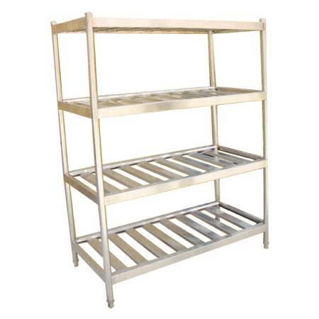 Four storey storage rack