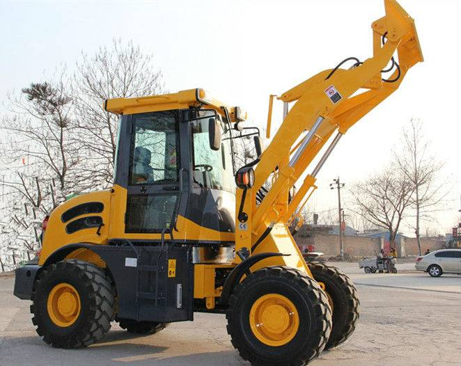 2014 New Design 4 Wheel Drive Articulated Mini Loader