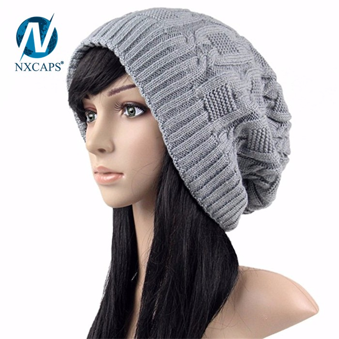 The Hat Colors Winter Unisex Plain Grey Beanie Hat wholesale gorro women plain blank sports beanies