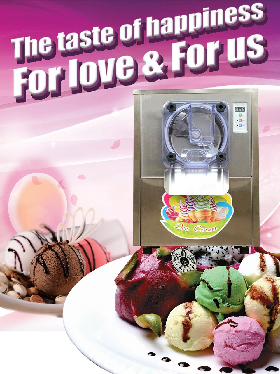 electric ice cream machine,soft ice cream maker,stainless steel ice cream maker