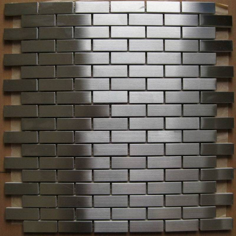 metal mosaic tile/brass mosaic tile