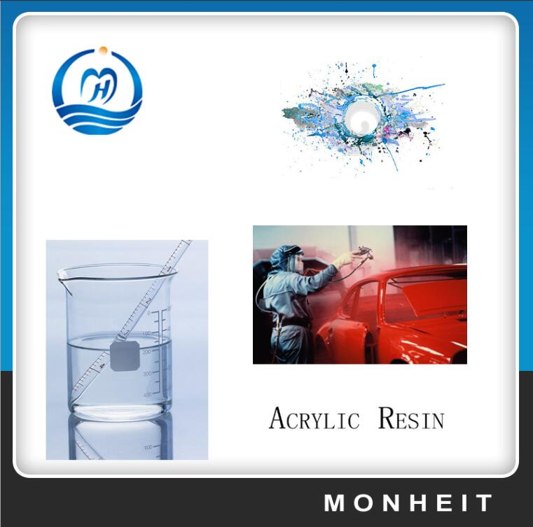 Mixture Solvent Thermoplastic Acrylic Resin For Floating Paint