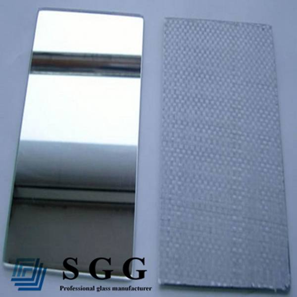 2mm 3mm 4mm 5mm 6mm Woven fabric film CATII safety mirror