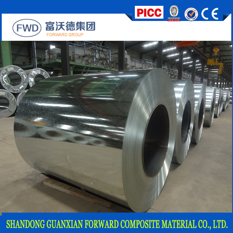 Prime Quality Hot Dipped Galvanized Steel Coil/DX51D Z40-Z275 G.I.Plain Sheet