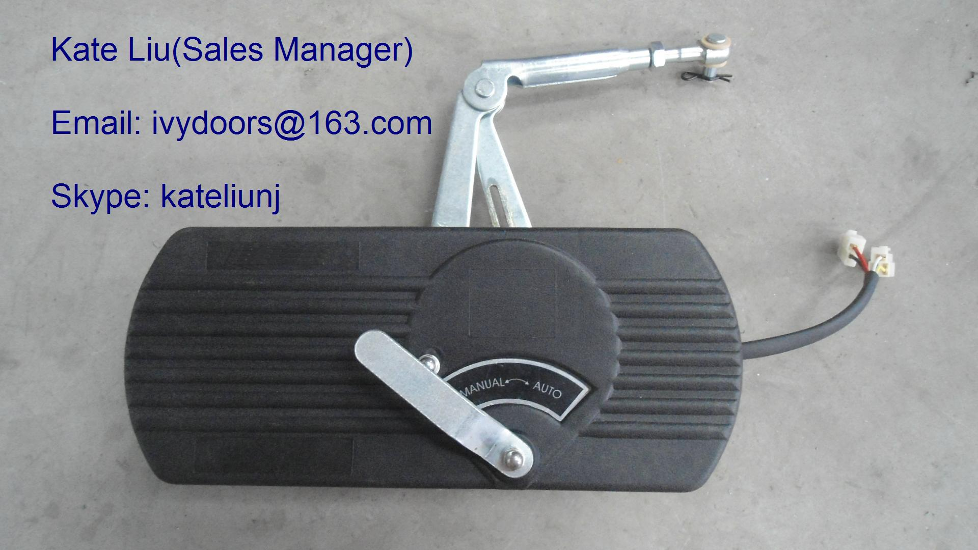 EB100 Electric folding bus door system and bus door mechanism For Minibus and City Bus
