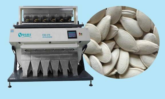 5 Chutes long working life CCD Color Sorter for Melon Seeds